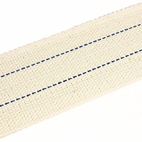 NKlaus 1 Metro 50mm 100% algodón Natural Mecha de lámpara Plana para Quemador de Aceite lámpara de Aceite con petróleo purificado 1306