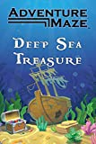 Adventure Maze by River Hill Games | Activity Puzzle Game, Folding Maze Sticker & Story Maze for Kids & Adults - Deep Sea Treasure, Pirate Theme