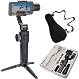 Zhiyun Smooth 4 Case Kit, Zhiyun Smooth Q Upgraded Version, 3 Axis Handheld Smartphone Gimbal, Focus Pull & Zoom Capability, Timelapse Expert, Object Tracking, 12h Runtime, Phonego Mode