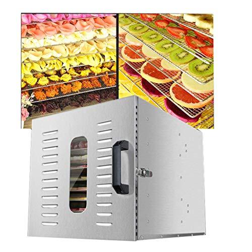 Find Bargain JION Food dehydrator, adjustable temperature 30-90 °C, intelligent control set multi-f...