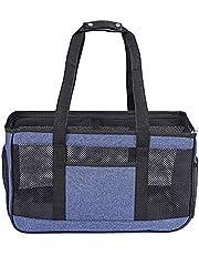 GLJYG Pet Carrier Cat Dog Bag zachte handtas lichte reistas voor huisdieren ademend perfect voor katten en kleine honden
