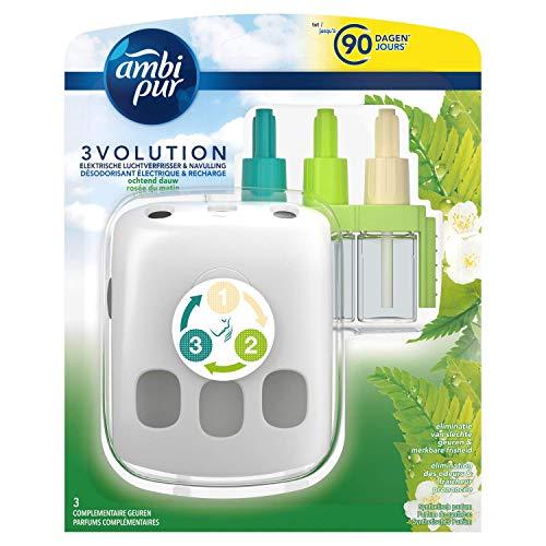 Ambi Pur 3volution Morgentau Elektrische luchtverfrisser, 20 ml