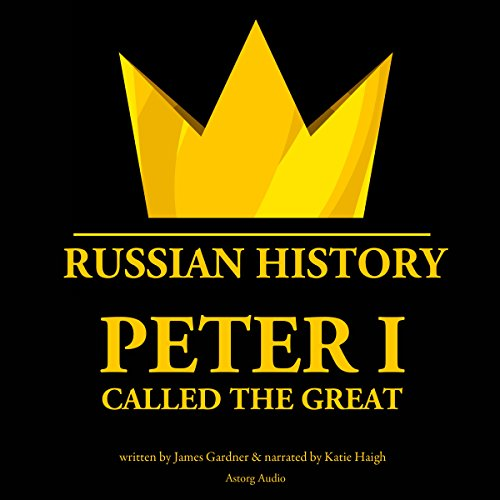 Peter I, Called the Great cover art