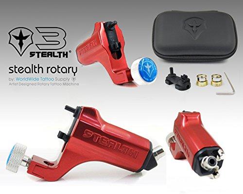 STEALTH GENERATION 3.0 Liner & Shader Tattoo Machine (RED)