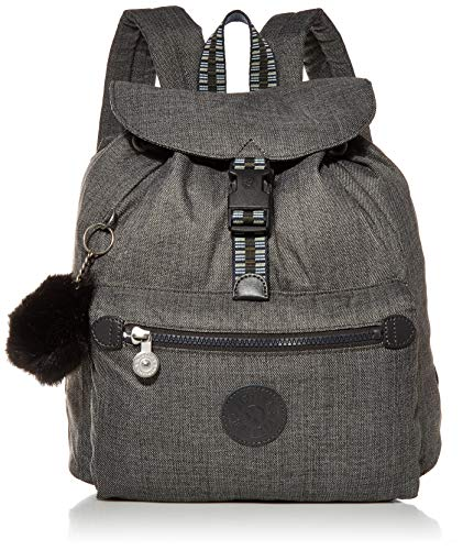 Kipling womens Keeper Small Backpack, Jeans Grey G, One Size