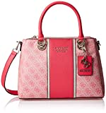 Guess Cathleen 3 Compartment Satchel Cherry