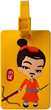 Mini Luggage Tag Bag Portable Terracotta Warriors Cartoon Characters Collection Chinese Souvenirs