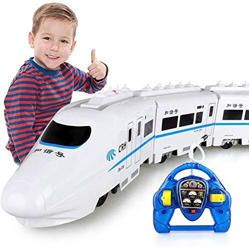 Coche de Control Remoto Ferrocarril de Alta Velocidad Tren de Control Remoto...