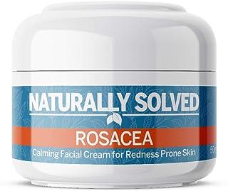 Naturally Resuelve Rosácea crema hidratante de día antienrojecimiento para piel sensible al acné eccema propensa de acné...