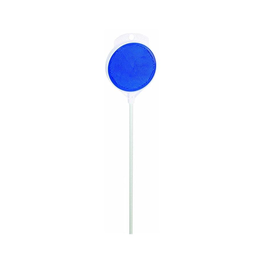 HY-KO Products DM300B36 Fiberglass DM300B36-Fiberglass Driveway Marker w/Reflector 36 in 1 Each, 36 in in, Blue