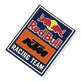 Red Bull KTM Emblem Imanes, Multicolor Unisexo Talla única Magnético Nevera, KTM Factory Racing Original Ropa & Accesorios