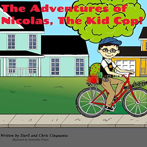 The Adventures of Nicholas, the Kid Cop audiobook cover art