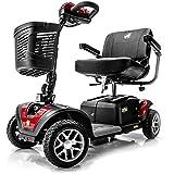 Golden Technologies - Buzzaround EX - Travel Scooter - 4-Wheel - Red