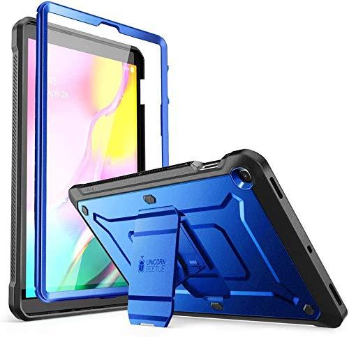 SUPCASE Hulle fur Samsung Galaxy Tab S5e 105 Zoll 2019 Bumper Case 360 Grad Schutzhulle Robust Cover Unicorn Beetle PRO mit integriertem Displayschutz und Stander SM T720 T725 Blau