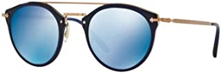 New Oliver Peoples OV 5349 S 156696 Remick Denim/Blue Mirrored Sunglasses
