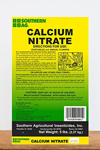 Southern Ag Calcium Nitrate - 5 Pound Bag
