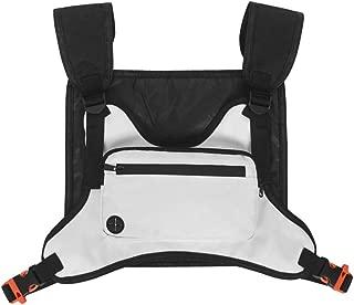 EFINNY Outdoor Sports Men Women Chest Bag Multi-function Waterproof Chest Rig Pack Streetwear Hip-Hop Mobile Phone Storage Backpack