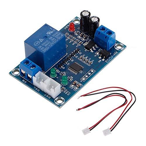 CVBN Xh-m203 Bomba de Interruptor de Controlador de Nivel de Agua Completo para envío Directo de relé AC/DC, Azul