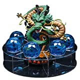 NEBAISEN Action Shenron Figures Set 1pcs 15cm Shenlong +7pcs 3.5cm Balls+1pcs Shelf for Birthday Holiday