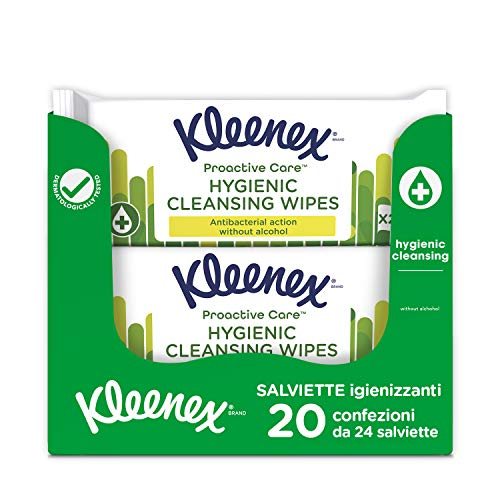 Kleenex Toallitas Higiénicas Antibacterianas