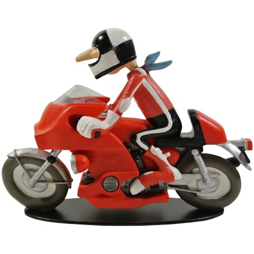 Promobo – Statuetta della collezione BD Joe Bar Team Racing Honda 1000 ciotola d'oro Marcel Spide n. 24