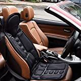 Car Seat Massager 8 Mode 3 Intensity Massage Seat Cushion Car Seat US Plug for Neck,Shoulders,Back Lumbar,Home Office Car, Father's Day Gift