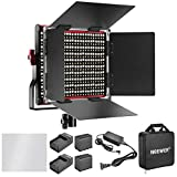 Neewer Kit de Iluminación Regulable Bi-Color 660 LED Luz (Rojo)