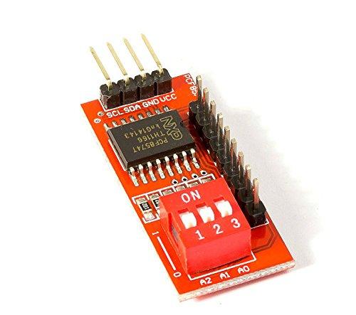 MissBirdler I2C Port I/O erweiterer PCF8574 kaskadierbar für Arduino Raspberry Pi DIY