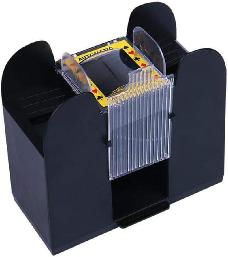yuanbogg 6 Decks Automatic Brand new Poker Battery Card Shuffler Max 65% OFF Operated