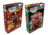Pack 2 Expansiones para el juego Escape Room. Asesinato Misterioso y Bienvenidos a Funland. Edicion Española