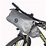 Bicicleta Bolsa de Almacenamiento 2pcs / Set Impermeable Ajustable Capacidad Bicicleta de la Bici del Manillar de Mano Pannier Dry Pack de Ciclismo