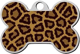 Custom Leopard Circle Pet Identity