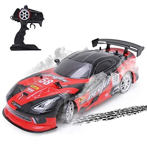PCARM 1/16 Remote-Super-GRT RC Sport Racing Drift Car, 360 ° -Drehsteuerung Auto for Erwachsene Kinder-Geschenke, 39km / h 4WD RTR Fahrzeug Metall-Körper for Kinder Junge Geschenke Ostern Weihnachten