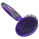 Hertzko Soft Pet Brush for Dogs and Cats with Long or Short Hair – Great for Detangling and Removing Loose Undercoat or Shed Fur – Ideal for Everyday Brushing & for Sensitive Skin