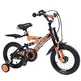 YJXTYP Bicicletas Infantiles Niños Y Niñas Aprenden A Andar En Bicicleta Ciclismo Bicicleta De Montaña Choque 3-8 Años Cochecito De Bebé Cochecito de bebé (Color : Orange)