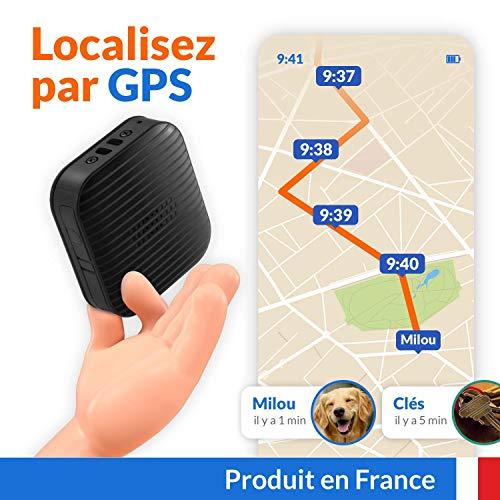 Traceur GPS Voiture Enfant Animaux, Swap Mini, Géolocalisation Haute Précision dans Toute...