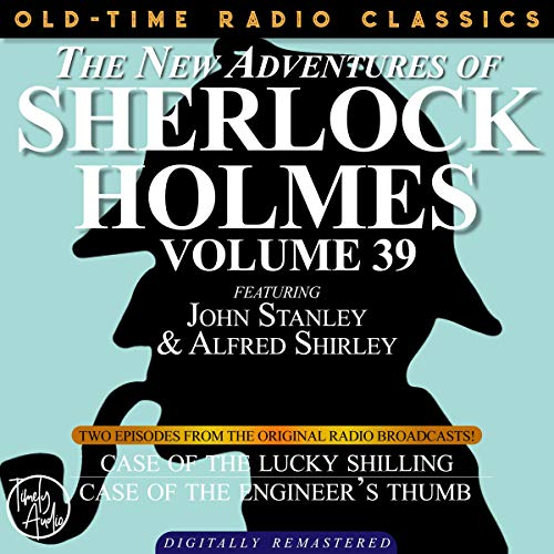 Couverture de The New Adventures of Sherlock Holmes, Volume 39; Episodes 1 and 2