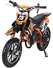Actionbikes Motors Mini Kinder Crossbike Gepard 49 cc - Scheibenbremsen - Sportluftfilter - Sportauspuff - Luftbereifung