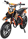Actionbikes Gepard 49 cc Pocket Bike - Benzin (Orange)