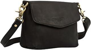 HOLZRICHTER Berlin Damen Umhängetasche S – Premium Leder Handtasche klein