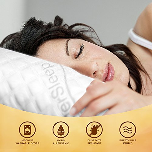 WonderSleep Premium Memory Foam Pillow Set