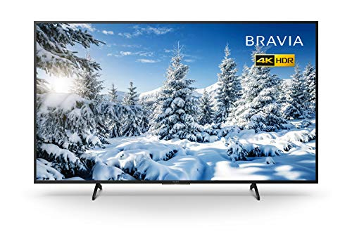 Sony BRAVIA KD55X70 - 55-inch - LED - 4K Ultra HD (UHD) - High Dynamic Range (HDR) - Smart TV with Freeview Play (Black, 2020 model)