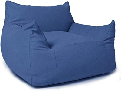 Amazon.com: Bean Bag Chair with Footstool Lazy Sofa Chair ...