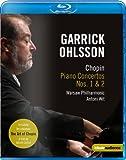 Chopin: Concertos (Ohlsson) (Chopin Piano Concertos Nos. 1&2) [Blu-ray]