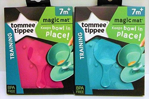 Tommee Tippee 2 Magic Mats 1 Azul 1 Rosa Edad 7 M + BPA Free