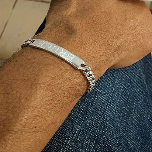Bracelet name 925 Sterling silver