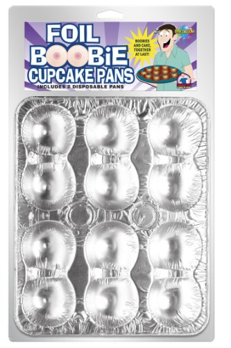 Pipedream Products Disposable Boobie Cupcake Pans