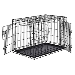Wire Crates are the Best Choice for Crate Training a German Shepherd
