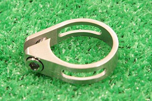 MicrOHERO マイクロヒーロー チタン 超軽量19g シートクランプ Φ34.9mm 自転車 自転車パーツ