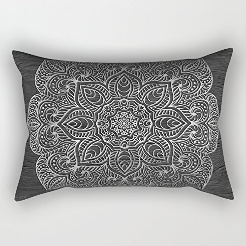 Bestseason Geometry Christmas Pillow Covers 16 X 24 Inches / 40 By 60 Cm Best Choice For Birthday Indoor Saloon Bench Lover Gril Friend With Both Sides